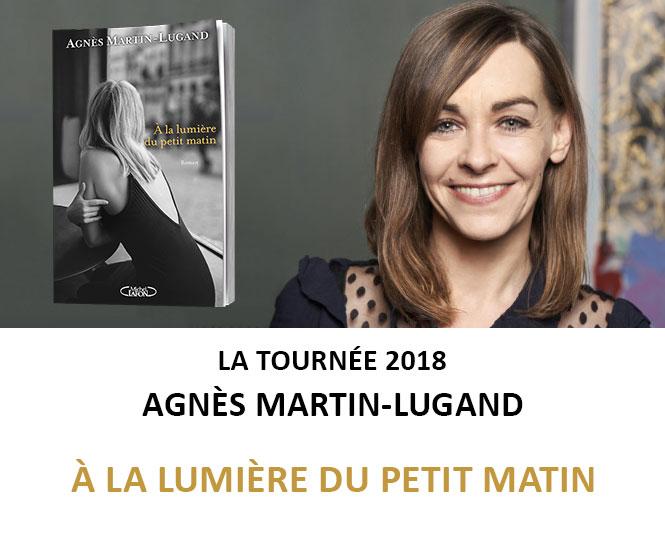 Tournée 2018 Agnès Martin-Lugand