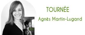 Tournée Agnès Martin-Lugand