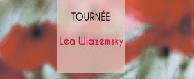 Tournée Léa Wiazemsky